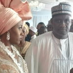 Photos From Babangida's Daughter's Wedding In Minna Today