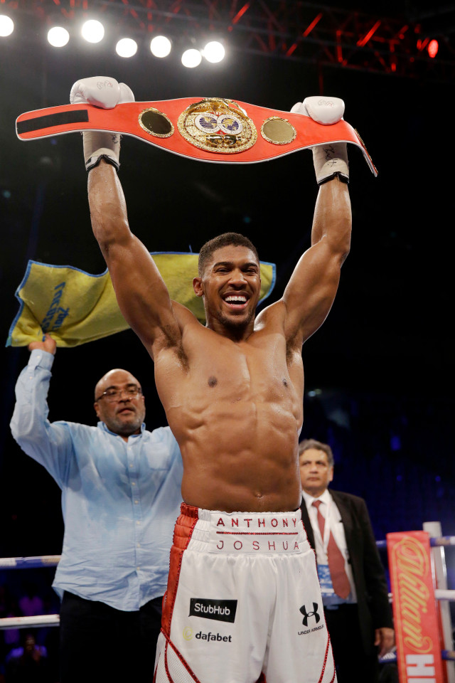 The Champs Party: Anthony Joshua's Family Plans Party For New World Champion