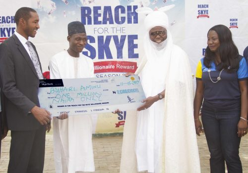 Buhari Wins N1 Million in Skye Bank Reward Promo