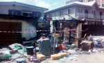 SAD: Woman Burnt Alive With Three Children In Surulere Inferno