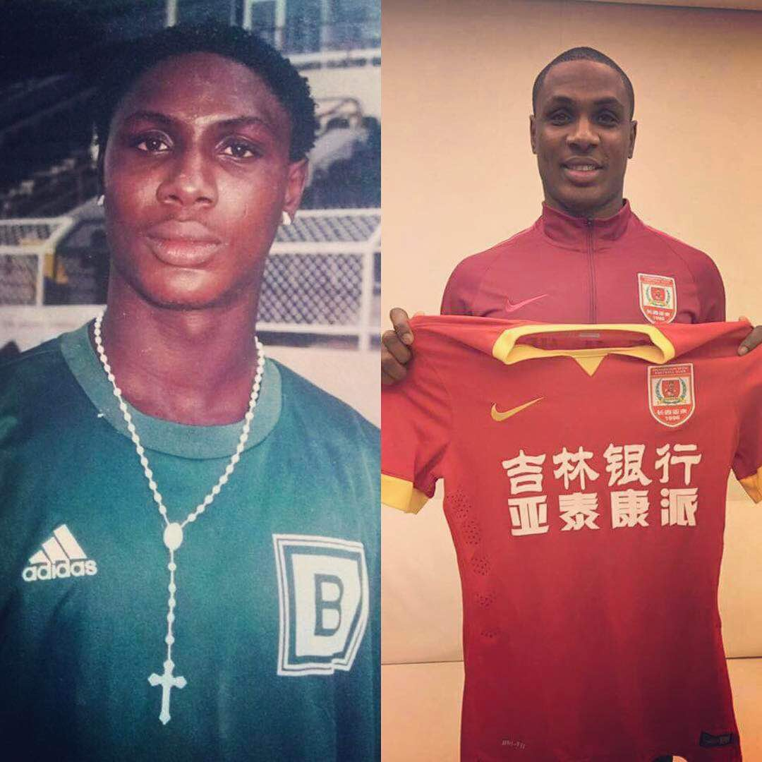 """""""My Girlfriend Left Me 11 Years Ago Because I Had Nothing To Offer""""-Footballer Jude Ighalo Shares Inspiring Story"""