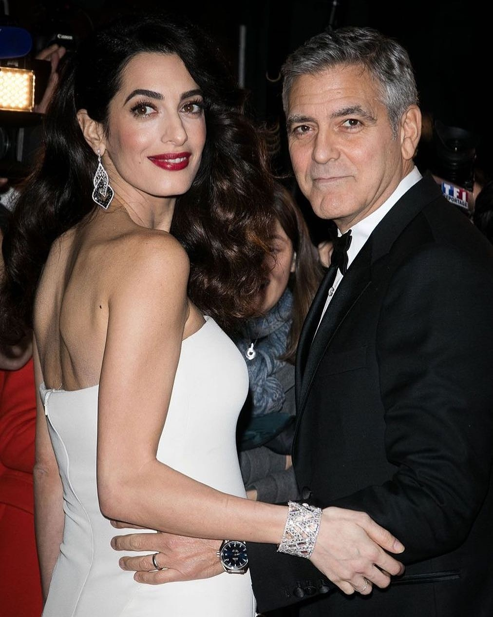 GeorgeClooney And Wife Amal Alamuddin Welcome Twins