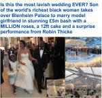 Dailymail Estimates Folorunso Alakija's Son Folarin's Wedding At £5 million , Calls It Most Lavish Wedding Ever (Details)