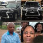 'Billionaire Kidnapper Evans' Wife Drives Latest 2016/2017 Lexus' – Source