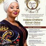 Obituary Of Actress Moji Olaiya's Obituary