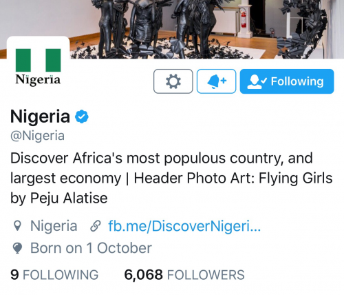 Nigeria Joins Twitter