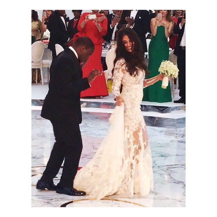 Folorunso Alakija's Son Folarin Weds In Style In The UK( Photos)
