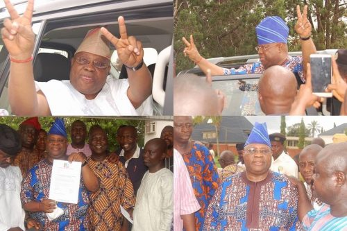 Davido's Cousin, Bred's Dad Cleared, Set To Replace Late Uncle Isiaka Adeleke At The Senate