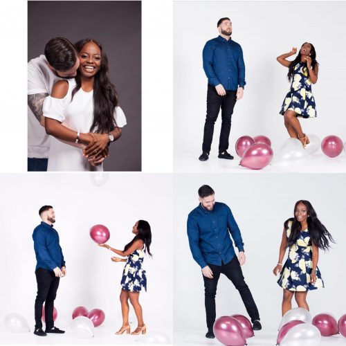 Photos From Toke Makinwa's Sister's Prewedding Shoot