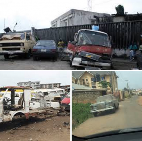 Lagos State Government To Evacuate Abandoned Vehicles On Lagos Roads By July 1st