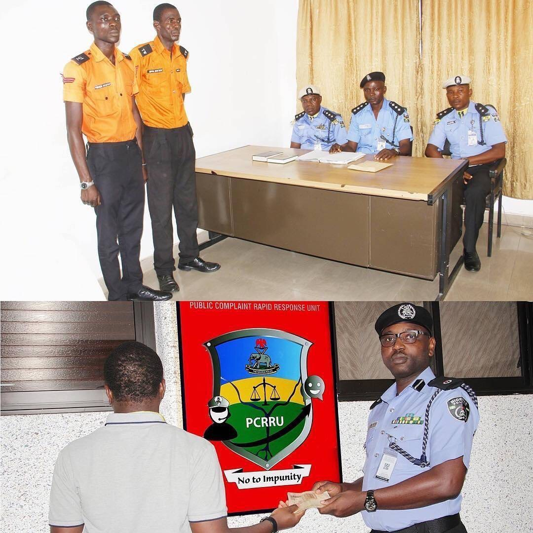 Police Dismiss Two Traffic Wardens For Extorting N15,000 From Motorist