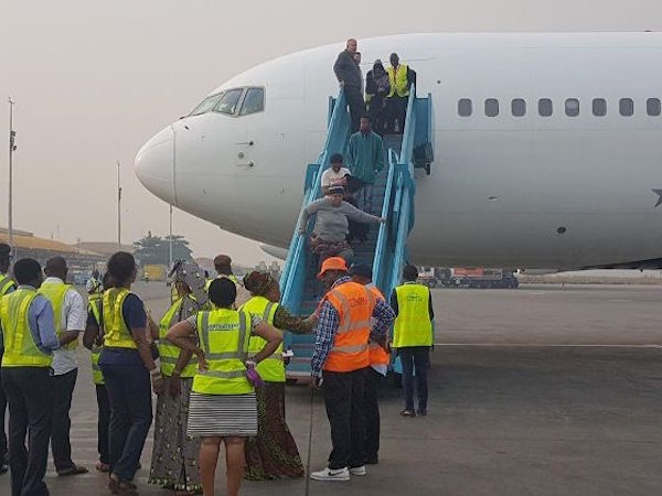 34 Nigerians Deported From  Europe