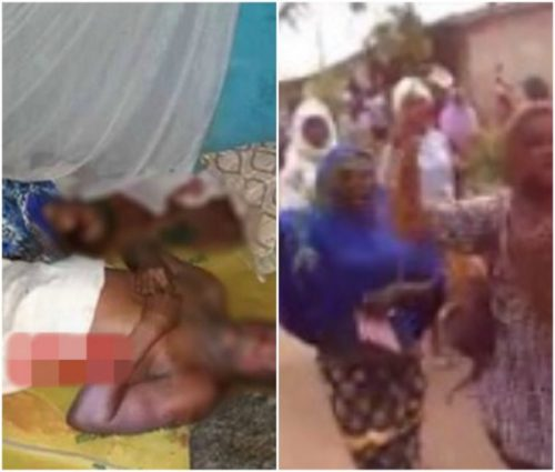 Outrage As Badoo Gang Allegedly Hacks Couple To Death On Their Matrimonial Bed In Ikorodu (Photos)