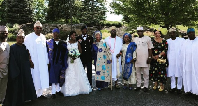 Lagos  Police Commissioner Fatai Owoseni Gives Out Daughter In Marriage In The US