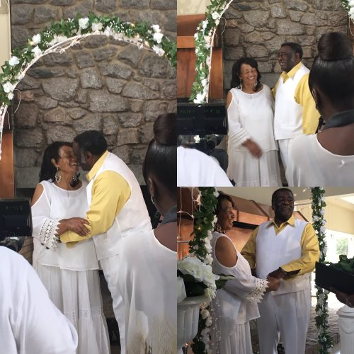 Ageless Love: Couple Becomes Internet Sensation After Grandson Posts Photos Of Their Vows Renewal After 50 Years Of Marriage