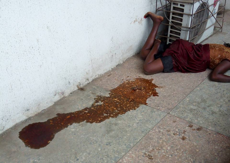 Woman Allegedly Gives Birth To Lizard In Port Harcourt (Photos)