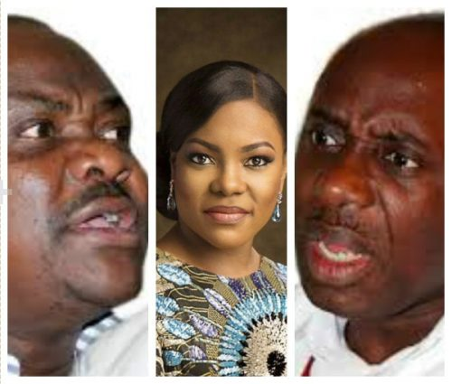 """Shut Up Or I Will ExposeYour  Wife"", Amaechi Blows Hot To  Wike"