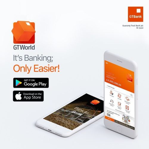 GTBank Launches GTWorld, Nigeria's First Fully Biometric Mobile Banking App