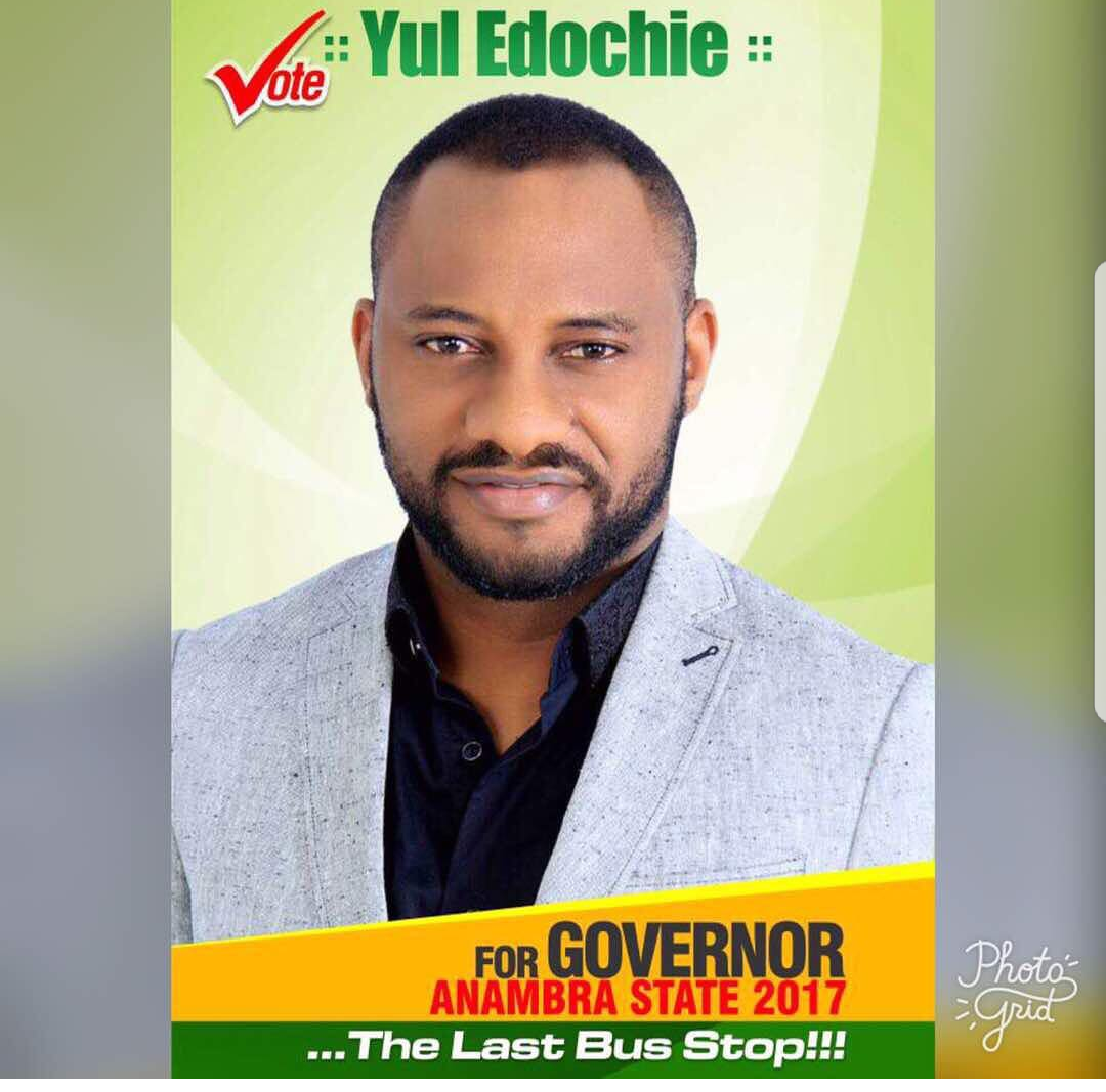 Actor Yul Edochie Declares Intention To Run For Anambra Governor