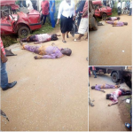 Sad: Couple Going Home From Work Die In Fatal Accident In Ekiti State