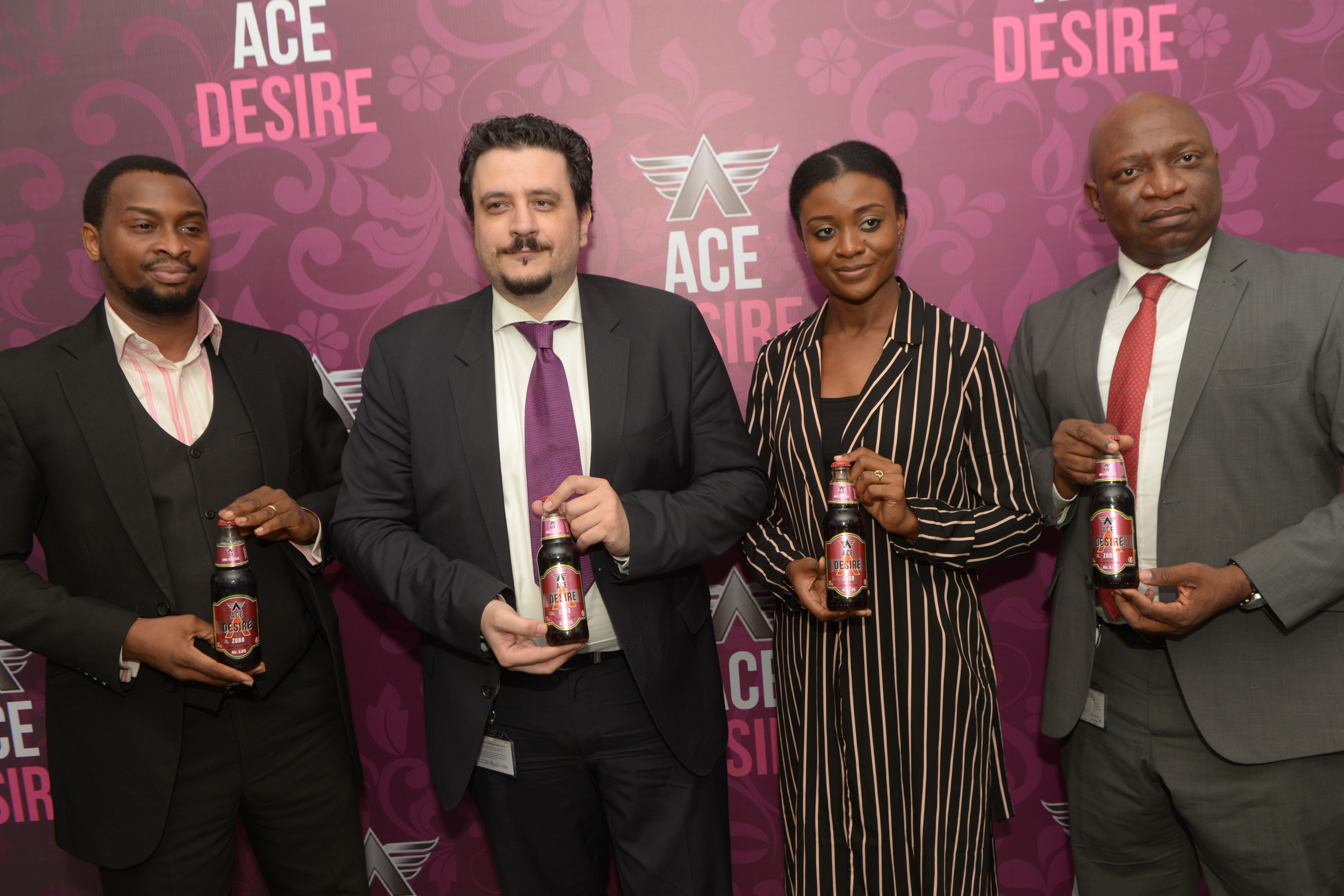 Nigerian Breweries Launches Ace Desire, A Zobo Flavoured Alcoholic Drink
