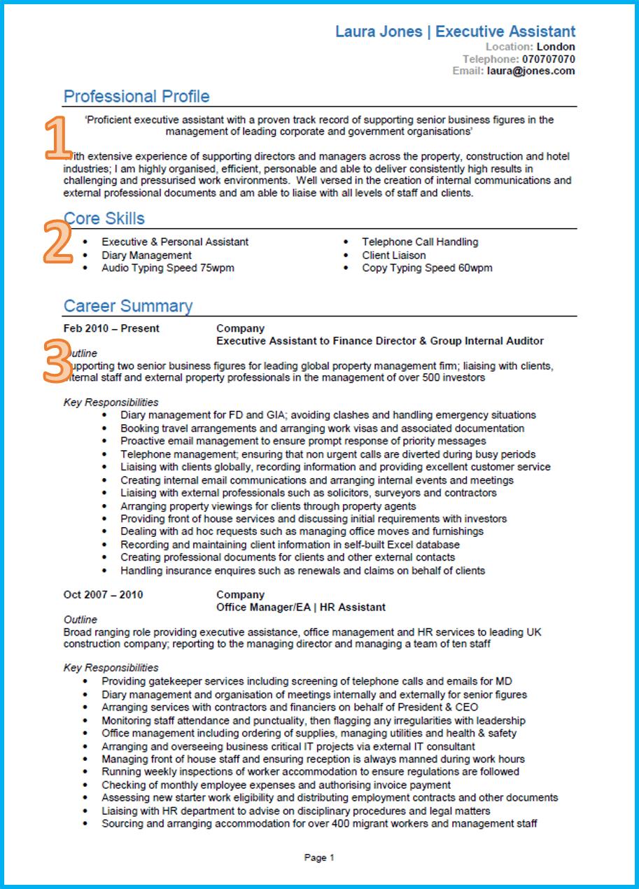 how to properly write a curriculum vitae  cv
