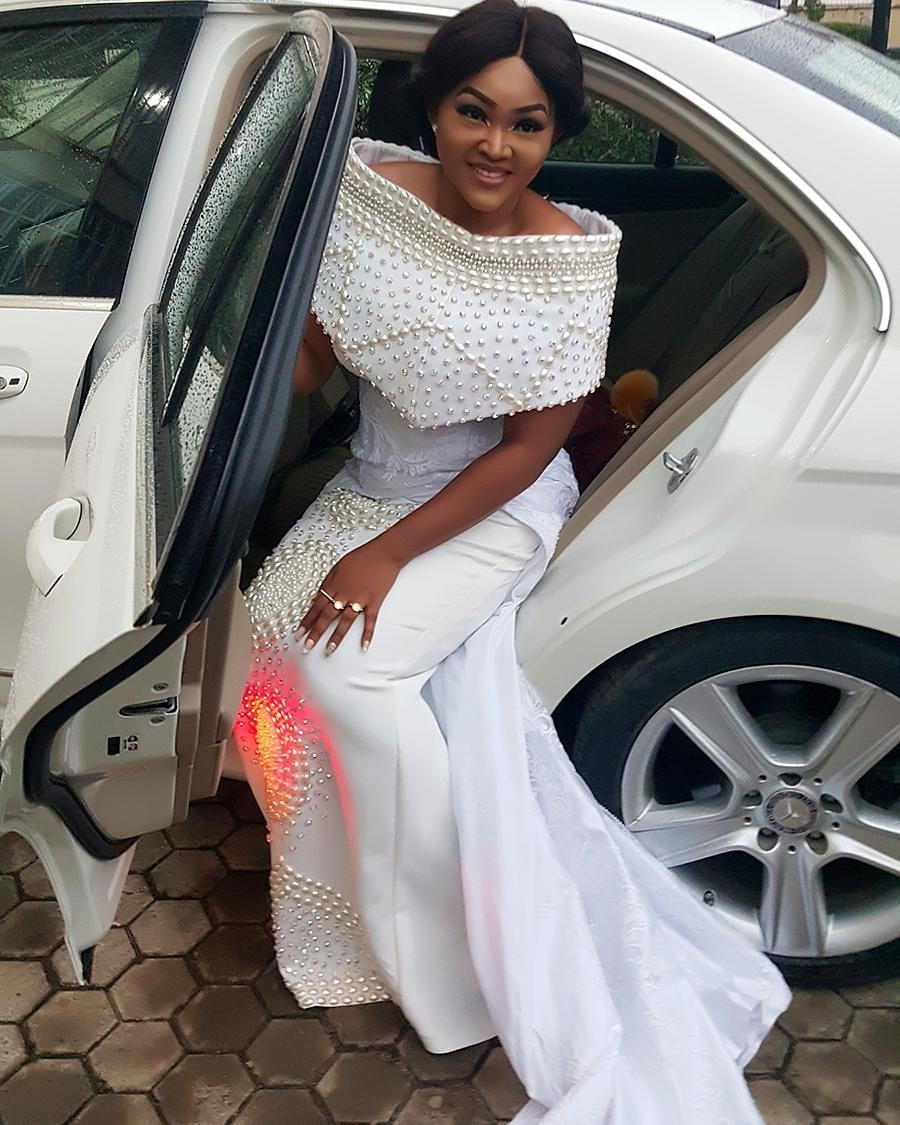 Mercy Aigbe Shines As Nollywood Actors Celebrate Actor Saidi Balogun At All White 50th Birthday Event