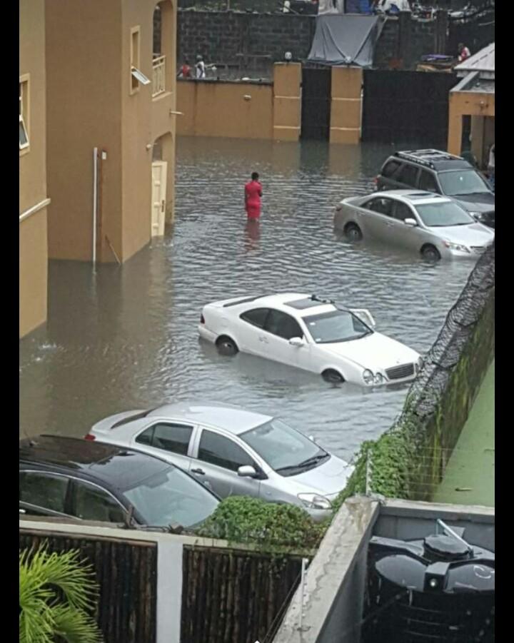 Lagos Rain And It's Effect On Islanders