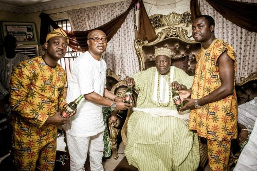 Olubadan Offers Royal Blessings For Goldberg And Ariya Repete