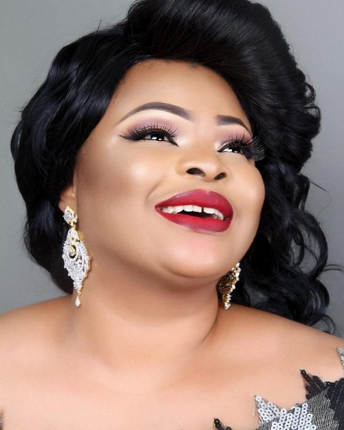 Actress Dayo Amusa Releases Stunning Photos For Her Birthday