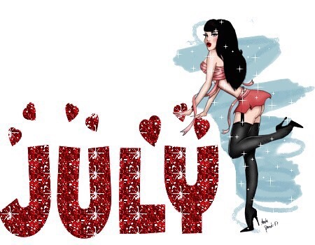 Happy New Month Of July!!!
