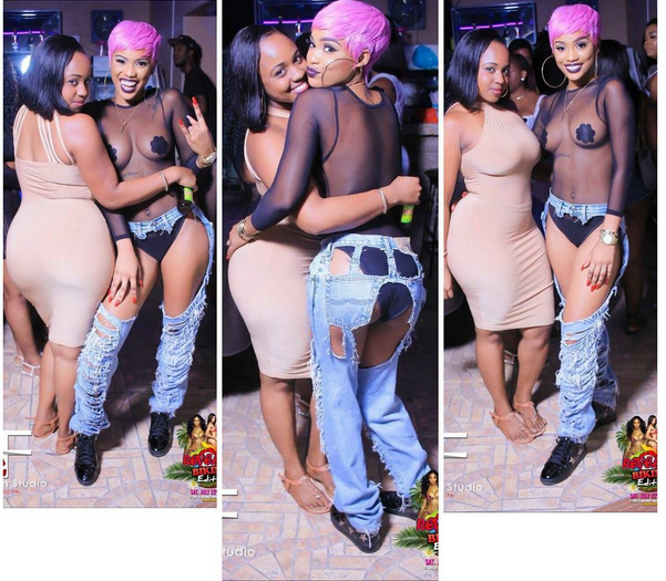 Fashion Or Madness??? See What This Lady Wore For An Event