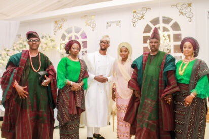 Photos From The Wedding Ceremony Of Abike Dabiri's Son To Ogun State Governor's Daughter