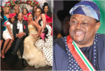Photos From Mike Adenuga's First  Daughters Wedding