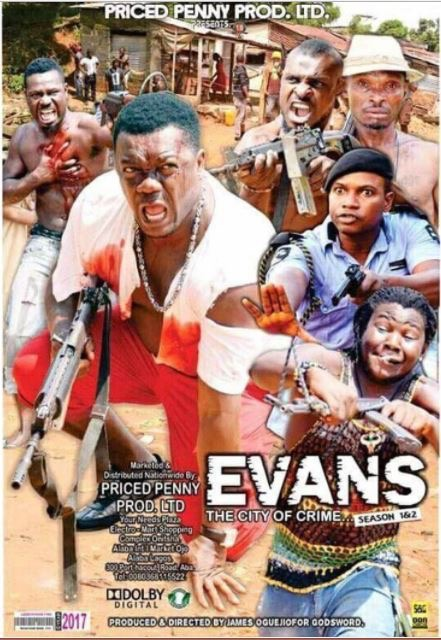 See Poster Of Nollywood Movie Inspired By Billionaire Kidnapper Evans, Set for Release