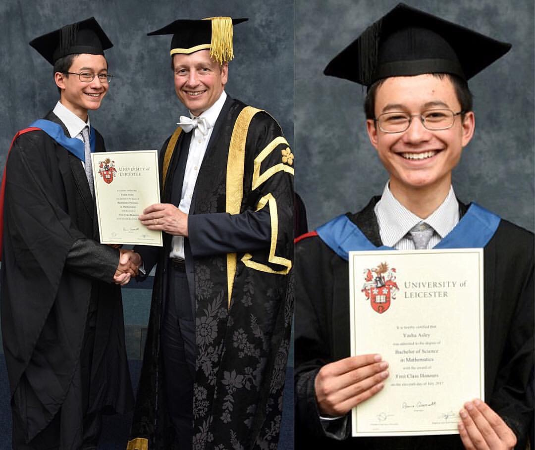 15-yr-Old Maths Whizz,Graduates University With First-class Honours