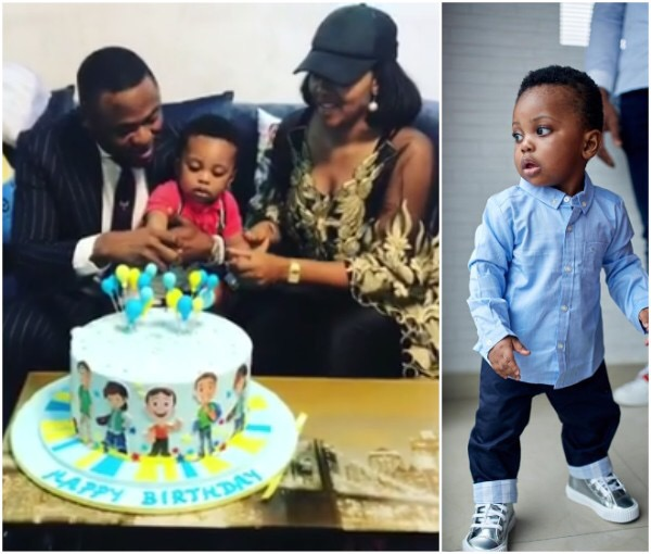 Photos: Lilian Esoro And Ubi Franklin Put Differences Aside To Celebrate Son Jayden's 1st Birthday Together