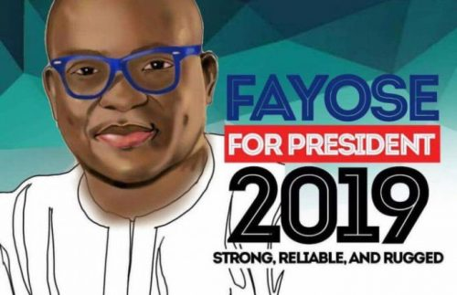 Fayose Begins Presidential Campaign