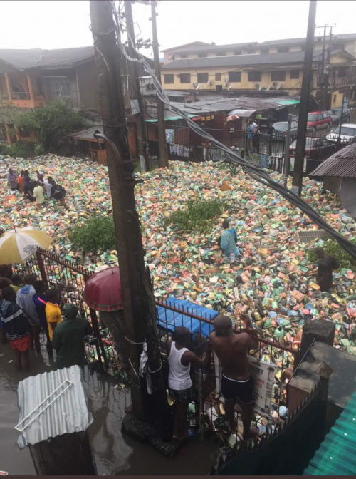 Video: Governor Ambode Responds Swiftly To Akobi Crescent Flood Crisis