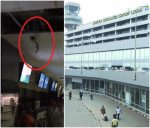 Shocking: Rats Found  Hanging From Ceiling At Murtala Muhammed Airport Lagos (Photos/Video)