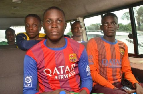 Photos : Lagos State Govt Says Freed Students Will Undergo Tests, Trauma Therapy