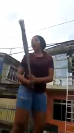 Hell Hath No Fury! Lady Damages Cheating Lover's Car In Lagos