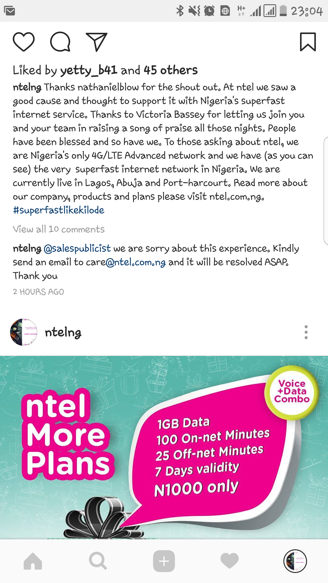 ntel Gets Huge EndorsementOver #halleluyahchallenge