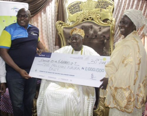 Olubadan Lauds Skye Bank For Rewarding Loyal Customers