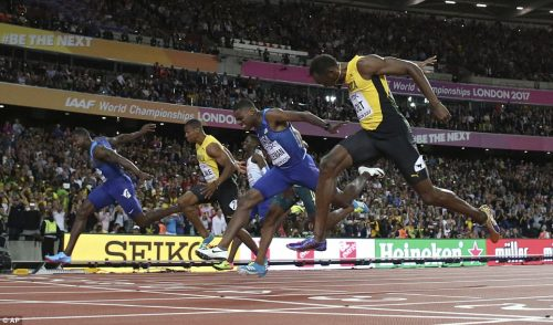 Usain Bolt LOSES Final 100m Race At 2017 IAAF World Championships, Finishes Third Behind  Justin Gatlin