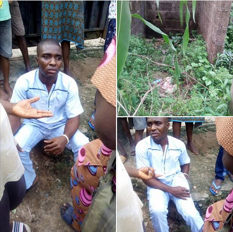See Man Caught While Trying To Rape 6-Year-Old Girl In An Uncompleted Building