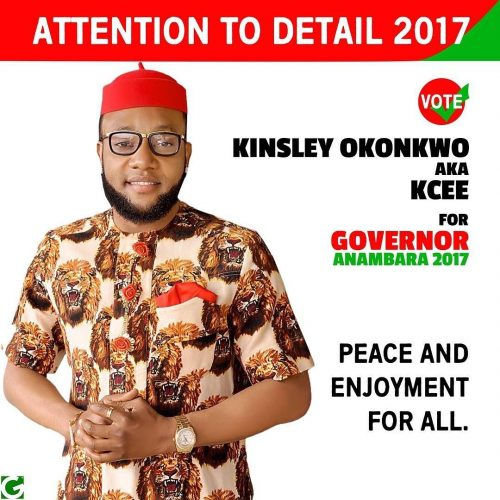 """Its About Time!"" Singer Kcee Says As He Declares Intention To Run For Anambra Gubernatorial Elections"
