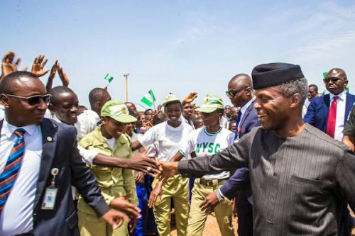 PHOTO SPEAK: OSINBAJO COMMISSIONS N10 BILLION WACOT RICE MILL IN ARGUNGU
