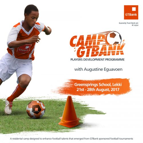 GTBank Holds Football Development Camp For Students And Coaches