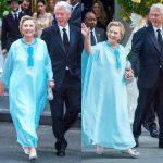 Hillary Clinton Attends Wedding Wearing Agbada (LOOK)